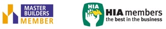 master builder member and hia member logos